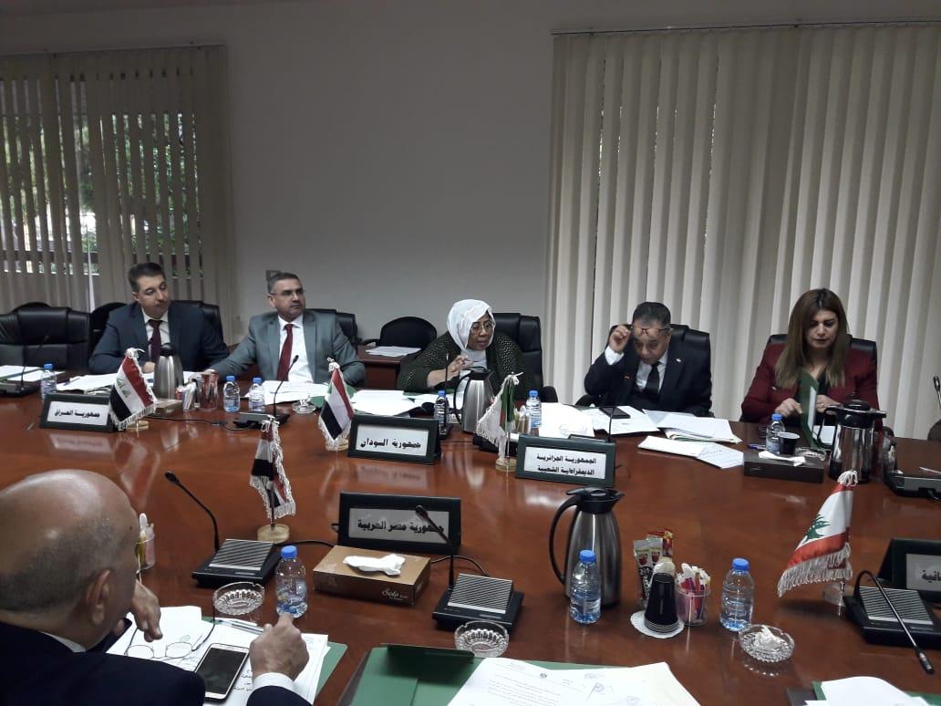 السودان يشارك في اجتماع لجنة قضايا الدولة بالمركز العربي