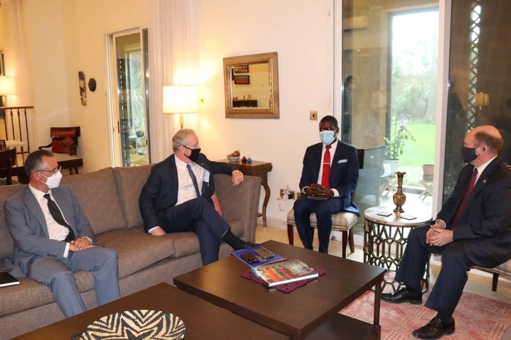 وزير العدل يجتمع مع وفد الكونقرس الأمريكي الزائر