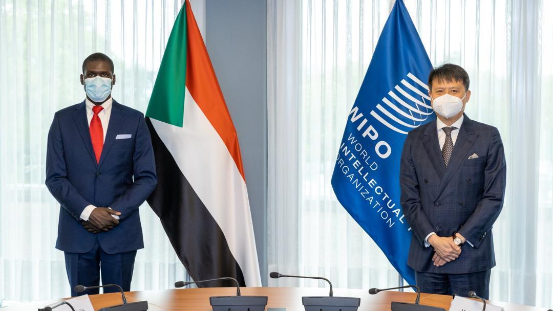 وزير العدل يلتقي بالمدير العام للمنظمة العالمية للملكية الفكرية