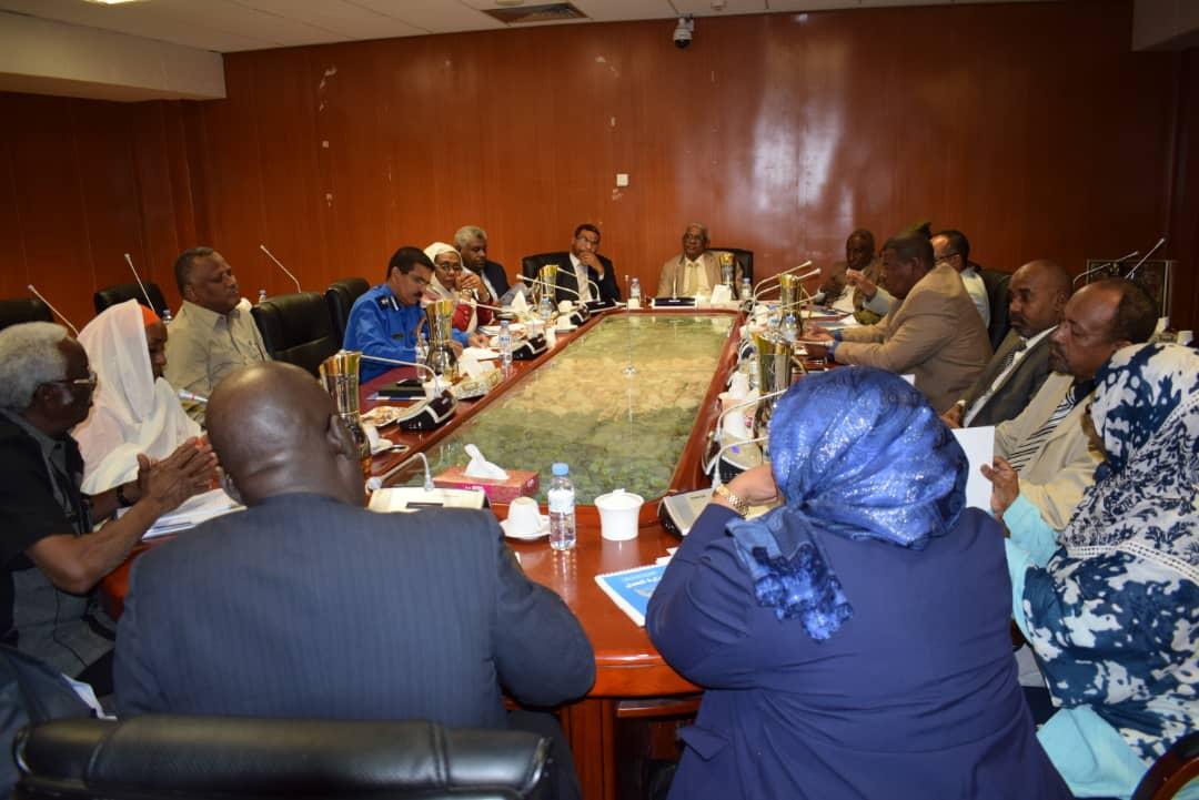اللجنة الوطنية لمكافحة الإتجار بالبشر تعقد إجتماعها